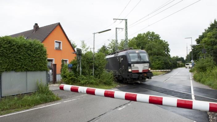 Zugdurchfahrt in München, 2019
