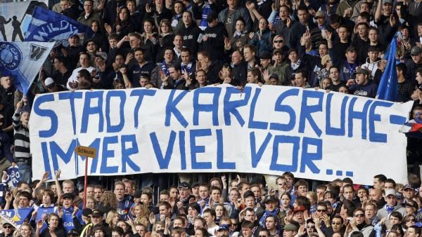 KSC Karlsruher SC Fans Protest 2008