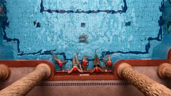 Gellert Thermal Baths and Swimming Pool (also known as the Gellért Baths or in Hungarian as the Gellért gyógyfürd?) is a