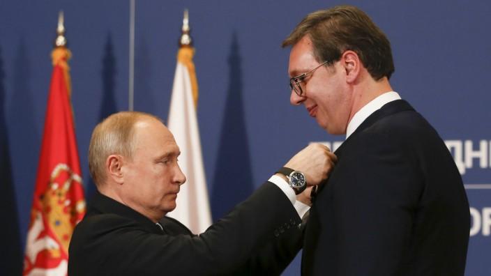 Vucic wirft Verbündetem Russland Spionage gegen Serbien vor