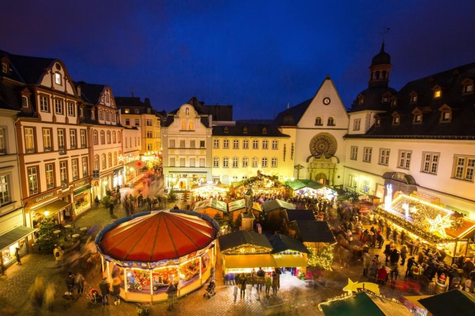 Weihnachtsmarkt Koblenz 2019 Rheinland-Pfalz Adventsmarkt Advent Weihnachten Markt Mittelrhein Unesco Welterbe Rheinland Pfalz Städtereise