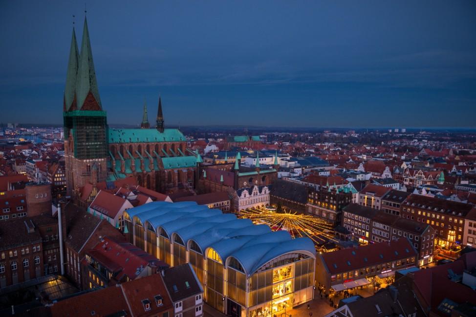 Weihnachtsmarkt Lübeck 2019 Schleswig Holstein Adventsmarkt Advent Weihnachten Markt Unesco Welterbe Städtereise