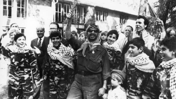Jassir Arafat in der DDR, 1974