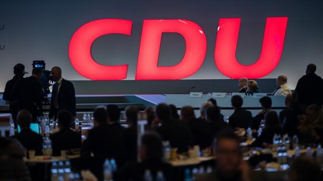 CDU-Parteitag 2019 in Leipzig