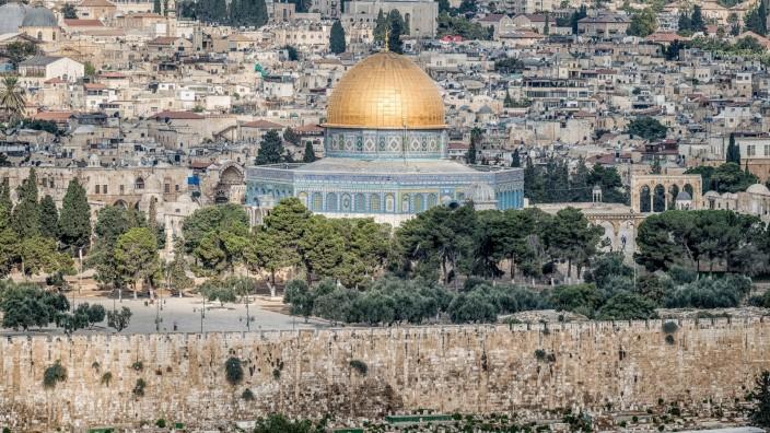 Blick auf Jerusalem, 2019