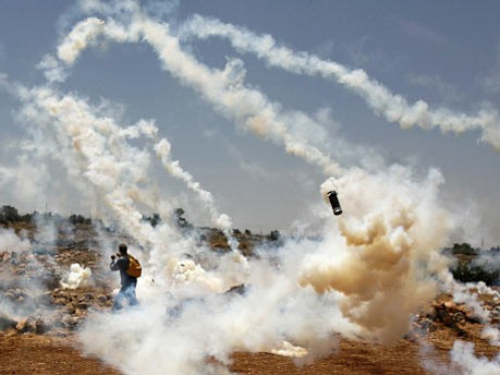 Tränengas, Israel, Palästinenser, AP