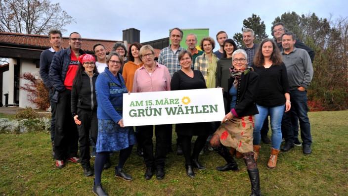 Söcking: Grüne stellen Stadtratsliste auf