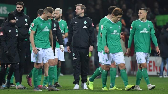 23.11.2019, Fussball GER, Saison 2019 2020, 1. Bundesliga, 12. Spieltag, SV Werder Bremen - FC Schalke 04, Trainer Flor