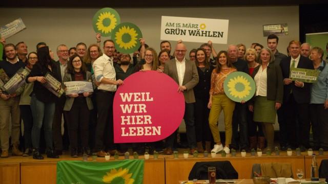 Die Grünen Landratskandidat Aufstellungsversammlung Bürgerzentrum Gernlinden