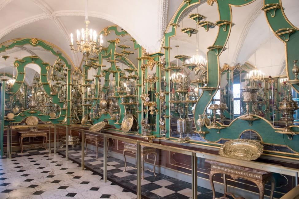 Das Grüne Gewölbe in Dresden