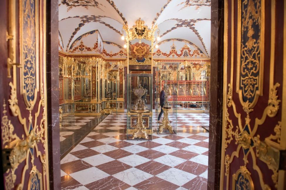 Einbruch in Dresdens Schatzkammer Grünes Gewölbe