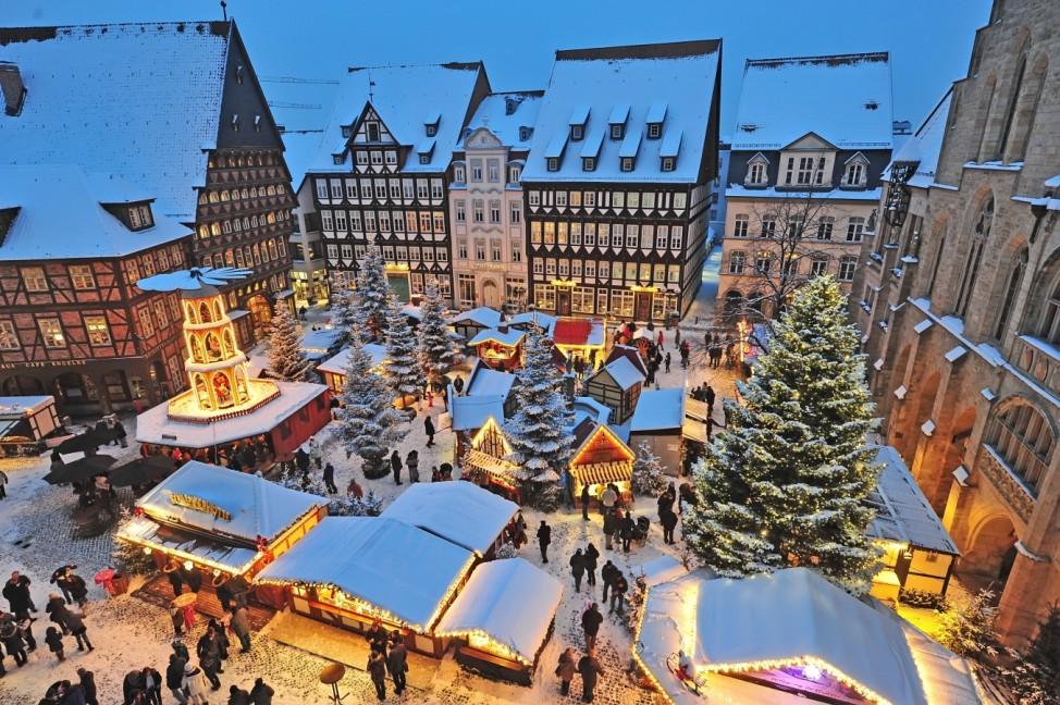Weihnachtsmarkt Hildesheim 2019 Niedersachsen Adventsmarkt Advent Weihnachten Markt Unesco Welterbe Städtereise