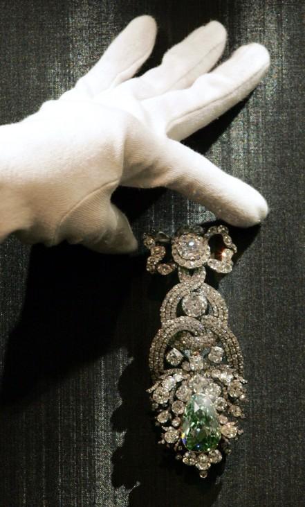 Sachsens Grüner Diamant in New York