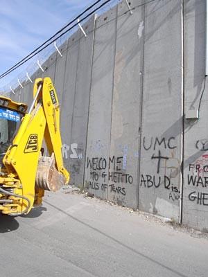 Mauer, Ostjerusalem, Heinzelmann