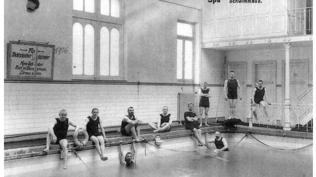 Historisches BIld der Stadt Spa in Belgien