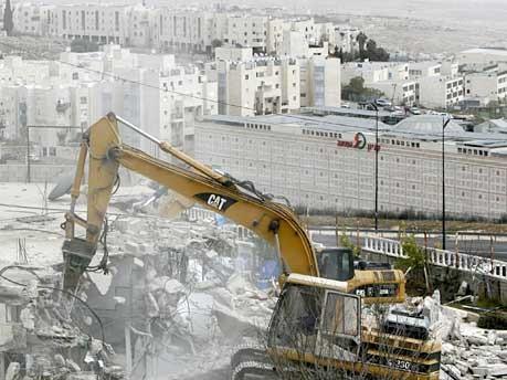 Häuserzerstörung, Israel, AFP