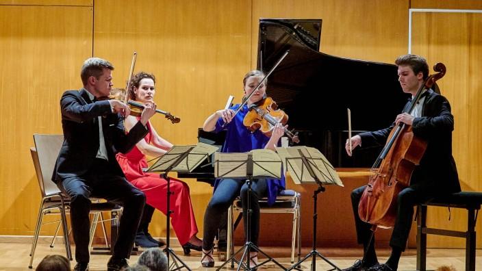 Notos Quartett Rathauskonzerte VS