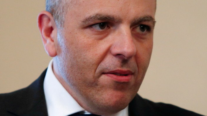 FILE PHOTO: Keith Schembri, Chief of Staff in the office of Malta's Prime Minister Joseph Muscat, arrives for talks between Muscat and his Macedonian counterpart Zoran Zaev at the Auberge de Castille in Valletta