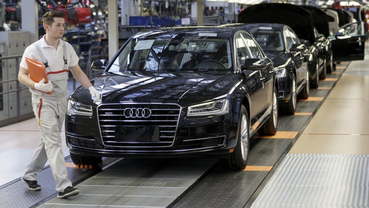 Audi streicht 9500 Stellen in Deutschland