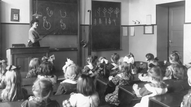 Schulklasse von 1919