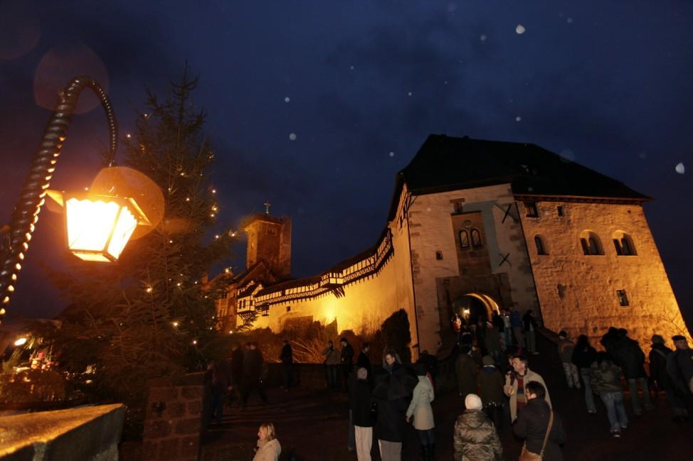 Weihnachtsmarkt Wartburg 2019 Eisenach Thüringen 2019 Luther Adventsmarkt Advent Weihnachten Markt Unesco Welterbe Städtereise Städtereisen