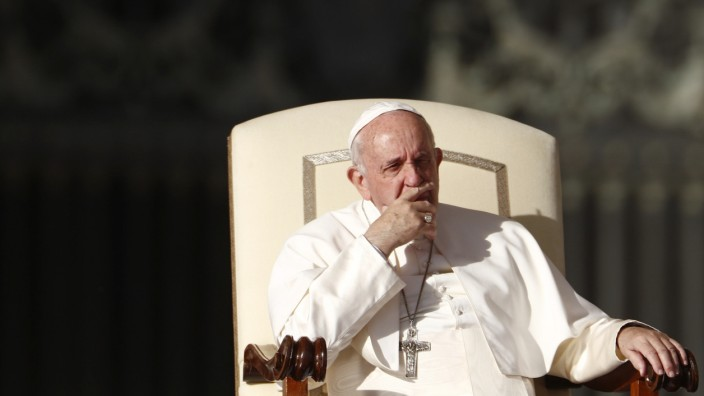 Pope Francis holds weekly audience at Vatican