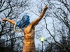 Sport Bilder des Tages 191127 The statue of Zlatan Ibrahimovic has been vandalized after Zlatan Ibrahimovic invests in S