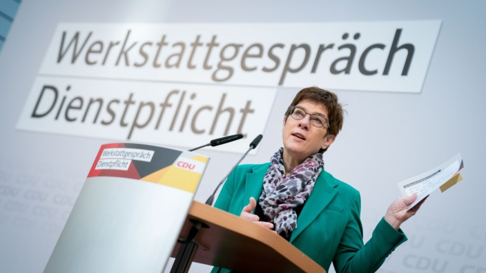Werkstattgespräch der CDU über eine allgemeine Dienstpflicht