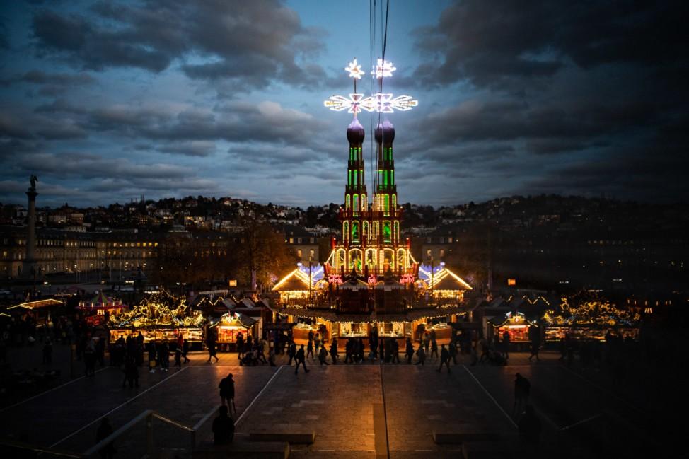 Eröffnung des Stuttgarter Weihnachtsmarktes