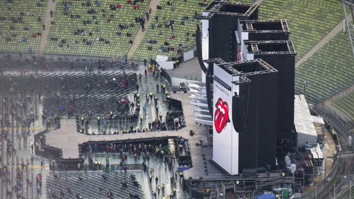 Rolling Stones Konzert Rolling Stones Konzert no filter tour im Olympiastadion Muenchen 12 09 17