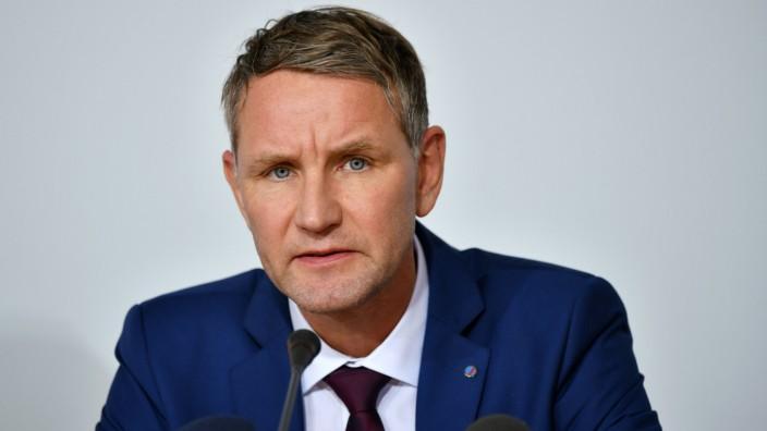 Björn Höcke, Fraktionsvorsitzender der AfD in Thüringen