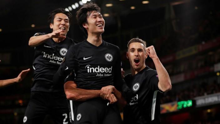Europa League - Group F - Arsenal v Eintracht Frankfurt