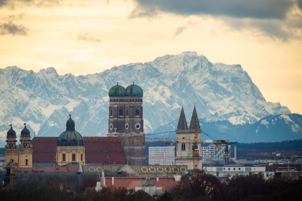 Föhnwetter in Bayern