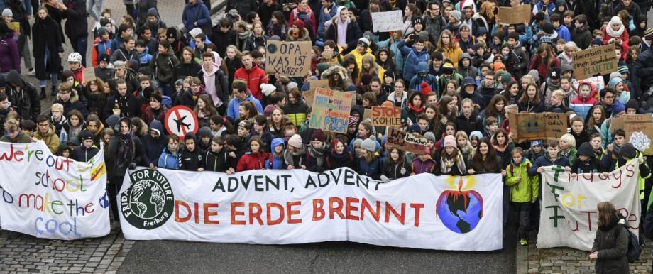 Fridays for Future: Globaler Klima Aktionstag in Freiburg