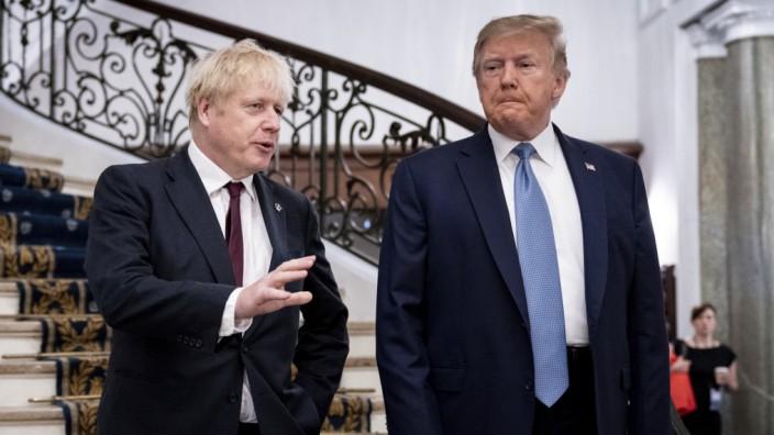 Johnson Trump Wahl Großbritannien