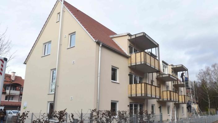 Sozialer Wohnungsbau: Die Wohnungen am südlichen Stadtrand sind acht von insgesamt 1334 städtischen Wohnungen mit günstigen Mieten.