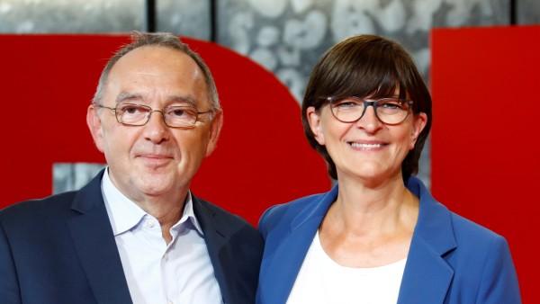 FILE PHOTO: Germany's SPD presents leadership candidates in Saarbruecken