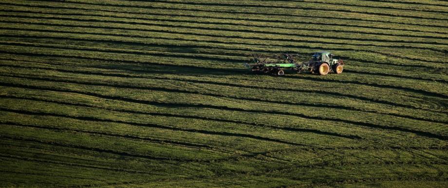 Landwirtschaft: Grasernte in Bayern