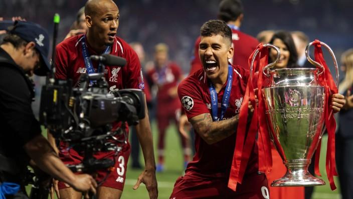1st June 2019 Wanda Metropolitano stadium Madrid Spain UEFA Champions League Final Tottenham Ho