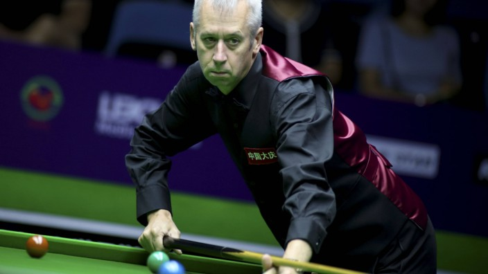 Snooker: Nigel Bond bei der World Snooker International Championship 2019