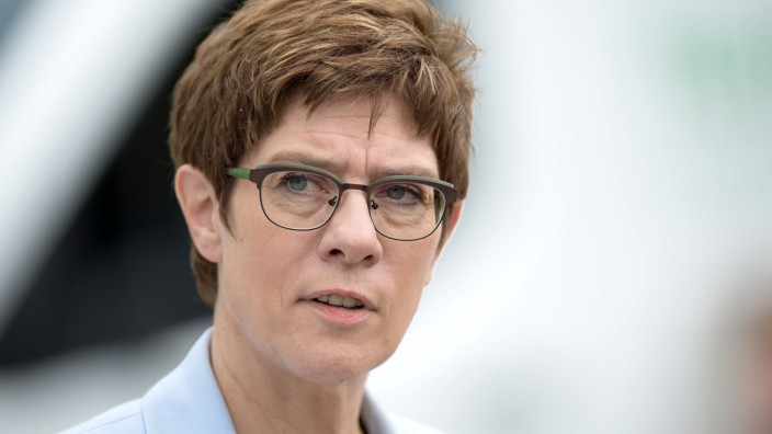 Kramp-Karrenbauer Grundrente SPD