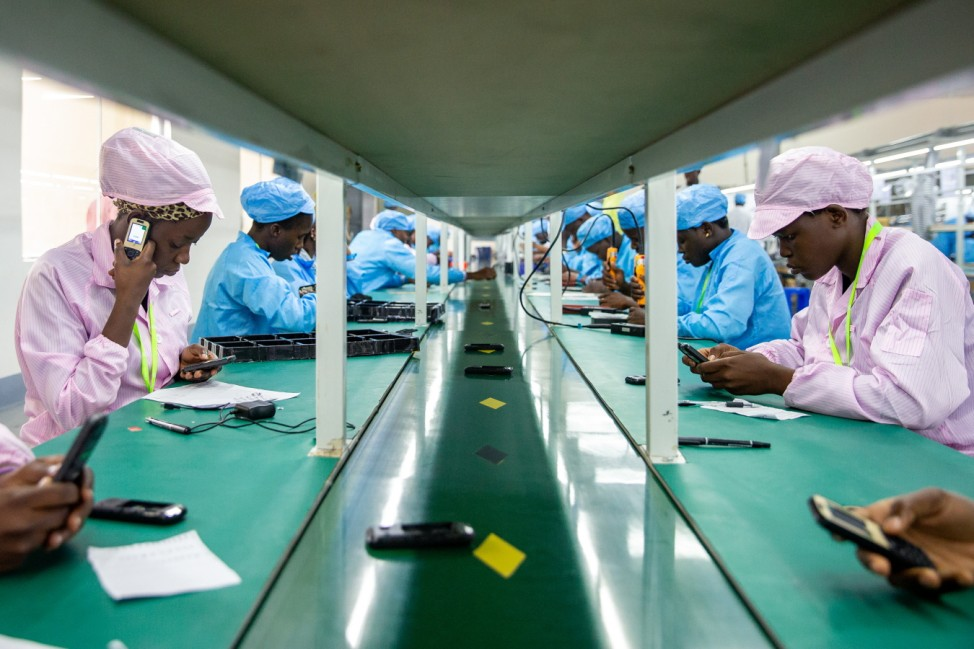 Uganda Opens First Mobile Phone Factory