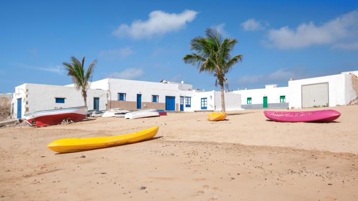 La Graciosa Kanarische Inseln Spanien
