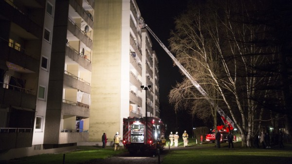 Große Feuerwehrübung Freiwillige Feuerwehr in Puchheim