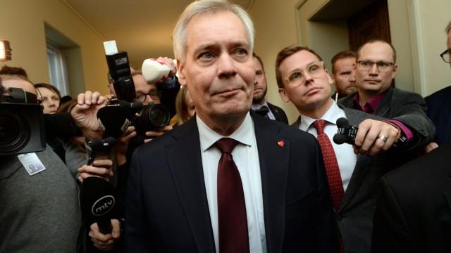 Regierungskrise in Finnland