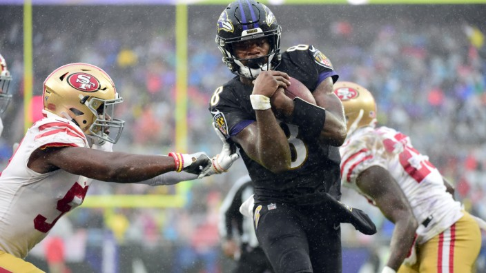NFL: San Francisco 49ers at Baltimore Ravens