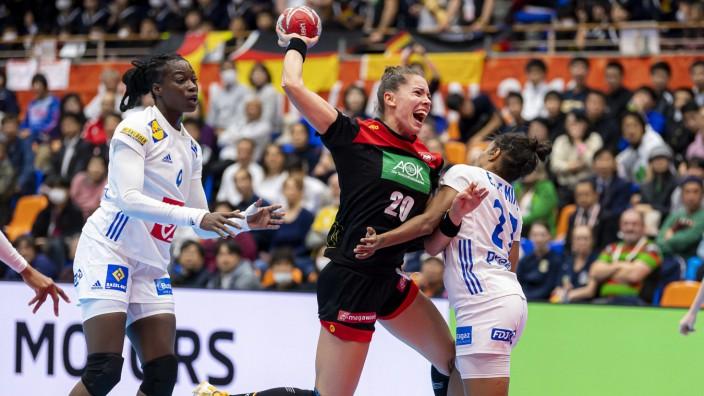 Handball Frauen WM Deutschland - Frankreich