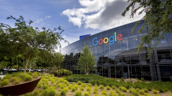 Google-Firmensitz in Mountain View