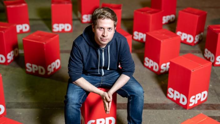 SPD: Juso-Chef Kevin Kühnert in Wittenberg