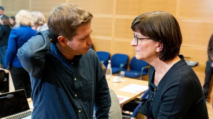 Kühnert Esken SPD
